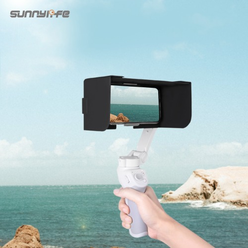 [공식수입원]DJI OM 4 썬후드 햇빛가리개 Sunnylife Mobile Phone Leather Sunshade